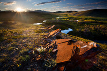 Sunset Over Pine Butte Swamp P...