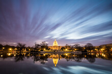 View Of United States Capitol ...