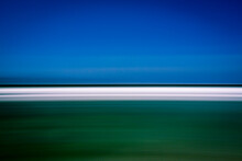 Blurred Motion Of Beach