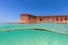 View Of Fort Jefferson In Dry Tortugas National Park