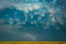 Thunderstorm With Lightning Ov...