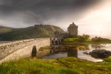 Eilean Donan Castle During Sunset