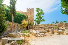 View Of Old Ruins Of Byblos Ci...