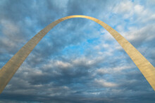 View Of Gateway Arch Against C...
