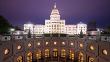 View Of Texas State Capitol At...