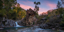 View Of Crystal Mill During Su...