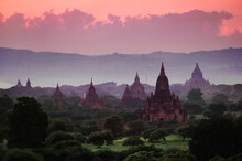 Scenic View Of Temples Amidst ...