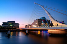 View Of Samuel Beckett Bridge ...