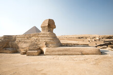 View Of Great Sphinx Of Giza A...
