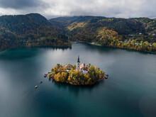 Aerial View Of Pilgrimage Chur...