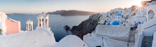 View Of Oia Village During Sun...
