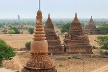 View Of Ancient Temples Over L...