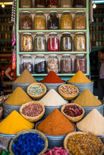 View Of Variety Of Spices And ...