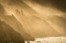 Big Sur Coast With Highway 1 S...