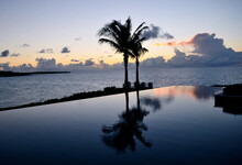 Scenic View Of Infinity Pool A...