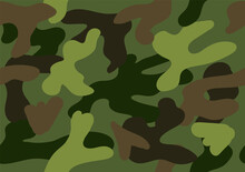 Camouflage Seamless Pattern. V...