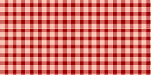 Red And Coral Pink Checkered P...