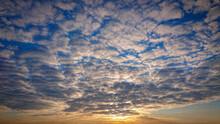 Beautiful Sunrise. The Deep Bl...