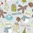 Christmas Decoration Gift Design Illustration