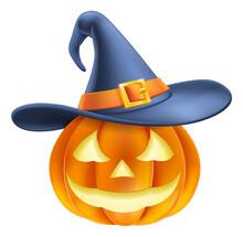 A Pumpkin Halloween Carved Jac...
