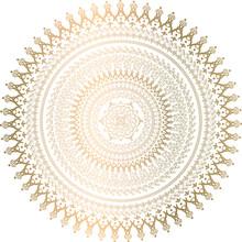 Indian Mandala Art Design Vect...