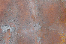 Metal Surface Rust And Backgro...