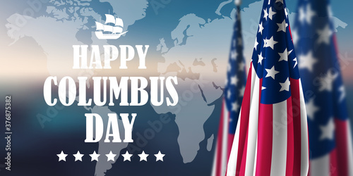 Fototapeta Columbus Day obraz na płótnie