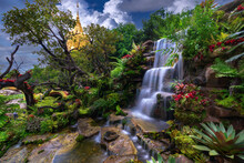 Waterfalls And Forests At Tham...