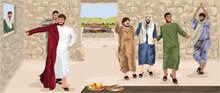 Prodigal Son Being Dressed In Best Robe, Celebration & Feasting (Luke 15)
