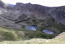 Landscape Of Mercantour National Park (Alps, France)