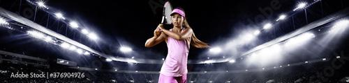 Fotografie, Tablou Teenager tennis player