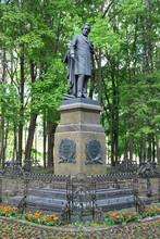 Russian Composer Mikhail Glinka Monument. Smolensk City, Smolensk Oblast, Russia.
