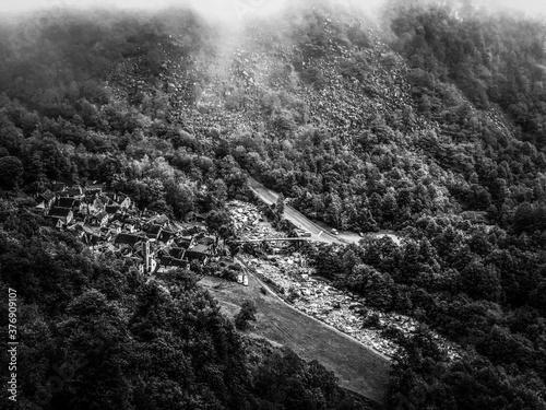 Black and White Photography Billede på lærred
