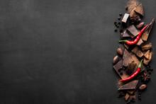 Dark Chocolate With Chili Pepp...