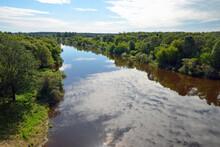 Russian Landscape. Dnieper Riv...