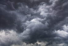 Dramatic Storm Clouds And Sky