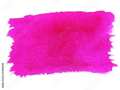 Fotografiet Pink watercolor wash background texture