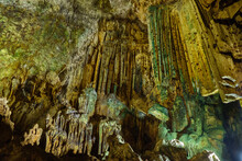 Stalactites Hanging Down From ...