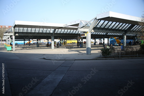 Fotografie, Obraz Zentraler Omnibus Bahnhof (ZOB) Berlin