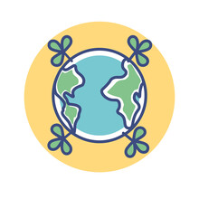 Isolated Earth Enviroment Ecol...