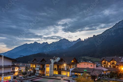 Fotografie, Obraz nubi sulla valle di Andalo