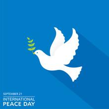 International Peace Day Observed On September 21