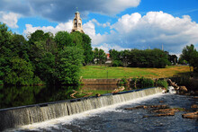 A Small Dam On The Blackstone River In Pawtucket, Rhode Island Powered The First Textile Mills In The USA