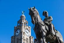 Edward VII Statue In Liverpool