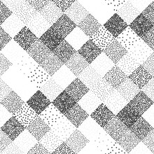 Abstract Bead Pattern Of Squar...