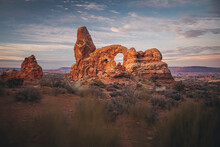 Turret Arch In The Morning At ...