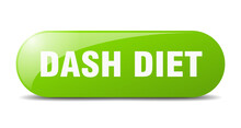 Dash Diet Button. Sticker. Ban...