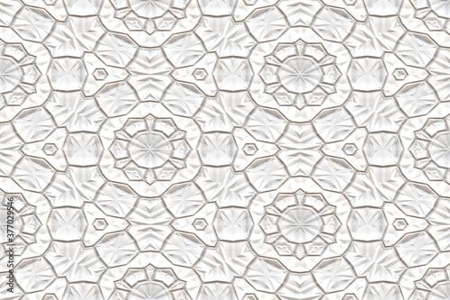 Fényképezés convoluted snowflake futuristic art
