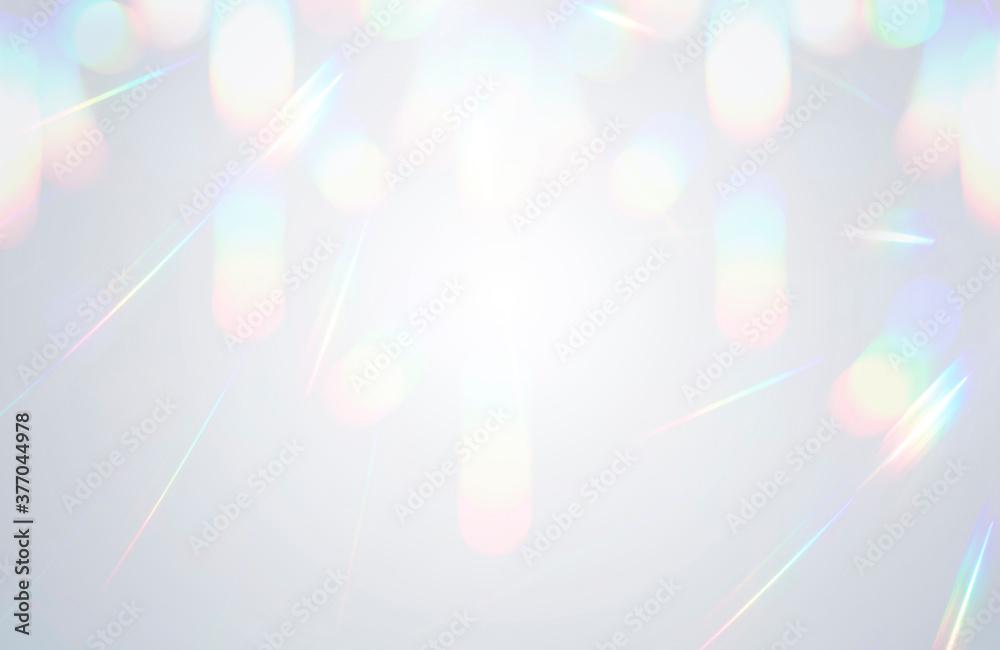 Fototapeta 背景素材 光の反射 キラキラ
