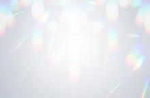 背景素材 光の反射 キラキラ